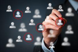 picture of labourer  - Target audience marketing segmentation customers care labour market customer relationship management  - JPG