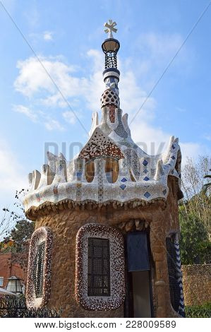 Park Guell Architect Antonio Gaudí