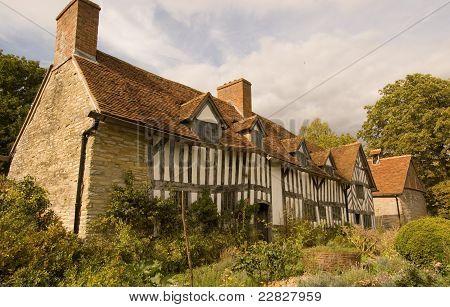 poster of Palmer's Farmhouse, Wilmcote, Warwickshire