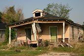 image of katrina  - Aftermath of Hurricane Katrina in The Ninth Ward New Orleans Louisiana - JPG