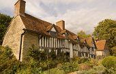 Palmer's Farmhouse, Wilmcote, Warwickshire poster