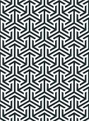 Abstract Geometric Pattern. Geometric Ornament Based On A Hexagonal Grid. Modern Simple Geometric Or poster