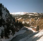 foto of amtrak  - Scenic Gore Canyon - JPG