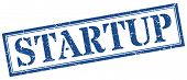 Startup Stamp. Startup Square Grunge Sign. Startup poster