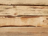 Horizontal Lumber. Lumber From Pine Boards. Roughly Processed Pine Board. Lumber Texture. Gap In The poster