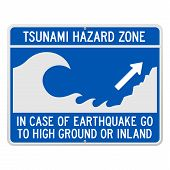 Tsunami Danger Sign