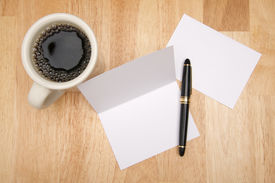 stock photo of thank you note  - Note Card  - JPG