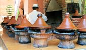 stock photo of tagine  - Moroccan ceramic cookware  - JPG