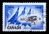 1959 Old Canadian Postage Stamp