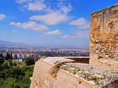 Alcazaba In Granada, Spain