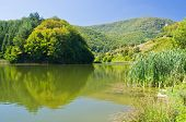 foto of semen  - One of the lakes at Semenic national park - JPG