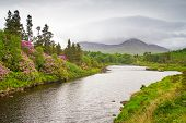 pic of galway  - Scenery of Connemara mountains - JPG