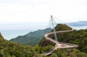 picture of langkawi  - The Langkawi Sky Bridge in Langkawi Island Malaysia