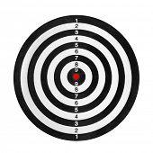 stock photo of shooting-range  - Shooting range target - JPG
