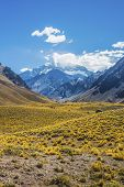 pic of aconcagua  - Aconcagua the highest mountain in the Americas at 6 - JPG