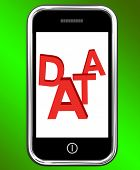 Data On Phone Shows Facts Information Knowledge