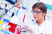 pic of biotech  - Laboratory research and development of cell therapy - JPG