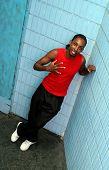 Happy Jamaican Man poster