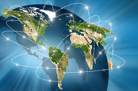 picture of globalization  - world Map - JPG