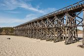picture of mendocino  - A view of the Pudding Creek Trestle in Fort Bragg - JPG