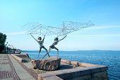 picture of metal sculpture  - Sculpture  - JPG