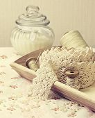 picture of lace  - lace ribbon - JPG
