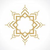 stock photo of arabic  - oriental arabic pattern - JPG