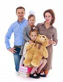 stock photo of nursery school child  - Happy childhood - JPG