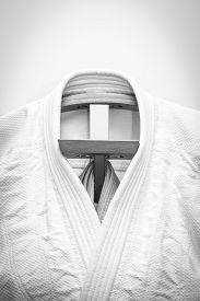 stock photo of judo  - martial arts clothes - JPG