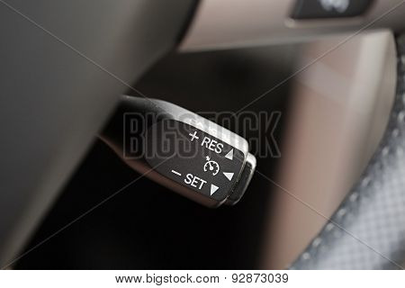 car interior with light switch poster id 92873039. Black Bedroom Furniture Sets. Home Design Ideas