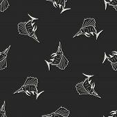 picture of swordfish  - Swordfish Doodle - JPG