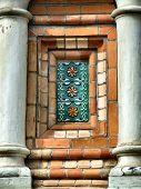 Ceramic Decoration In Architecture poster