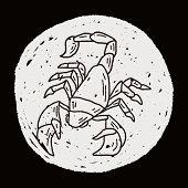 pic of scorpion  - Scorpion Doodle - JPG