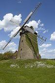 stock photo of windmills  - The windmill Seelenfeld  - JPG