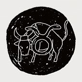pic of taurus  - Taurus Constellation Doodle - JPG