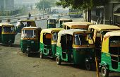 Mototransport in New Delhi
