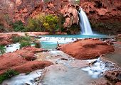 waterfall Havasu in USA