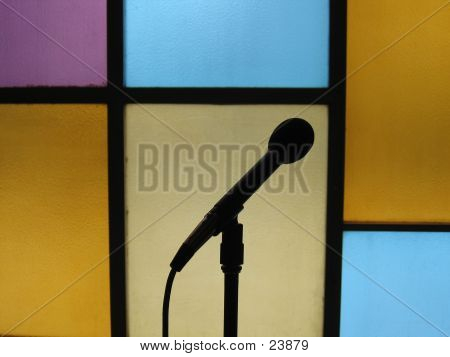 Microphone Music poster