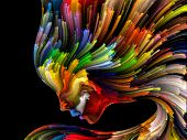 Vibrant Inner Palette poster
