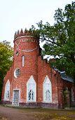 picture of tsarskoe  - Admiralty pavilion in Catherine park Tsarskoe Selo Russia - JPG
