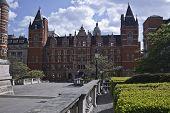 image of kensington  - Old buildings near Royal  Albert Hall - JPG