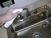Cleaning Chrome Sink