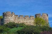 Mediaeval Castle Walls In Devin, Former Village Nowdays Part Of Bratislava City In Slovakia poster