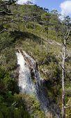 Alltan Mhic Eoghainn Waterfall, Beinn Eighe Mountain Trail Above Loch Maree, North West Highlands, S poster