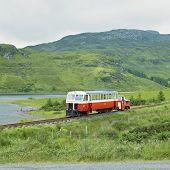 pic of motor coach  - narrow gauge railway - JPG