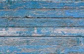 Blue Wooden Background. Blue Faded Painted Wooden Texture, Background, Wallpaper. Wooden Background, poster