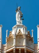 Doge`s Palace Detail, Venice, Italy. Famous Palazzo Ducale Is One Of The Top Landmarks Of Venice. Ol poster