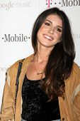 LOS ANGELES - NOV 16:  Shenae Grimes arrives at the Google Music Launch at Mr. Brainwash Studio on N