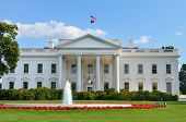 Image of the white house - washington dc.