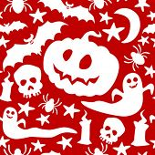 image of drakula  - Halloween seamless pattern - JPG